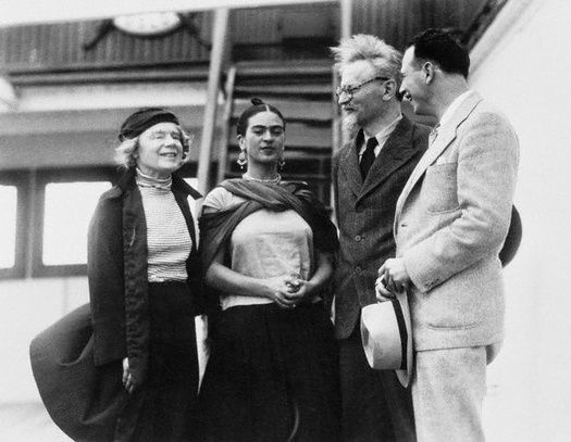 Frida y Leon Trotsky