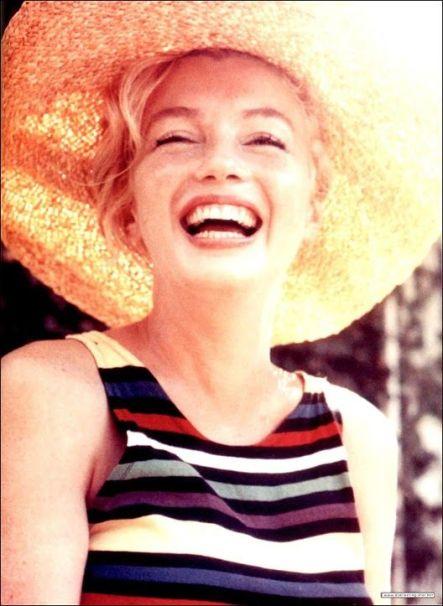 marilyn sonriendo