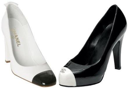 chanel zapato bi color