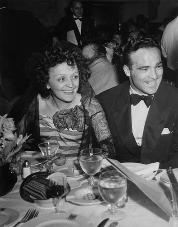 Edith Piaf and Marcel Cerdan