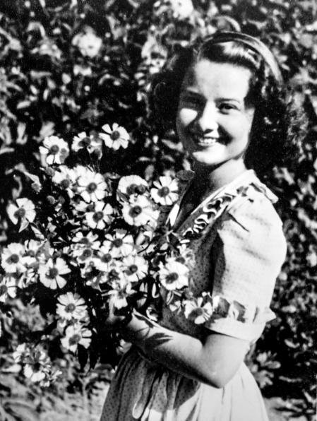 Audrey después de la liberación de Holanda