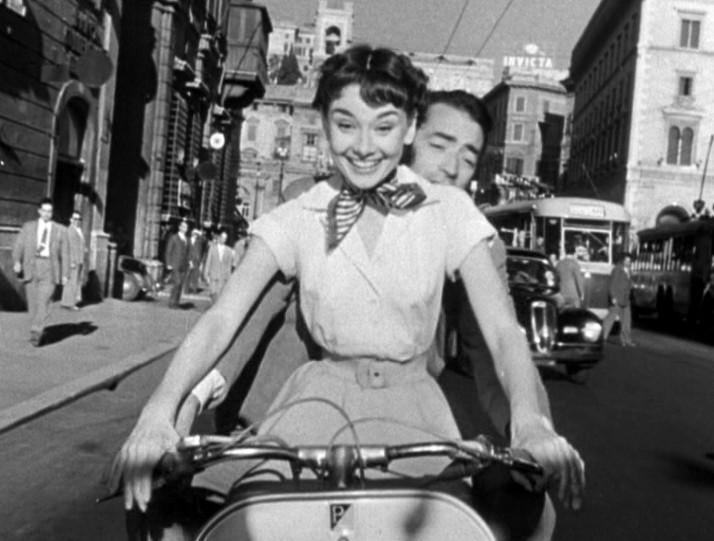 Audrey-Hepburn-en-Vacaciones-en-Roma