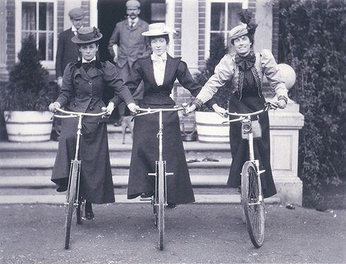 bicicleta época victoriana
