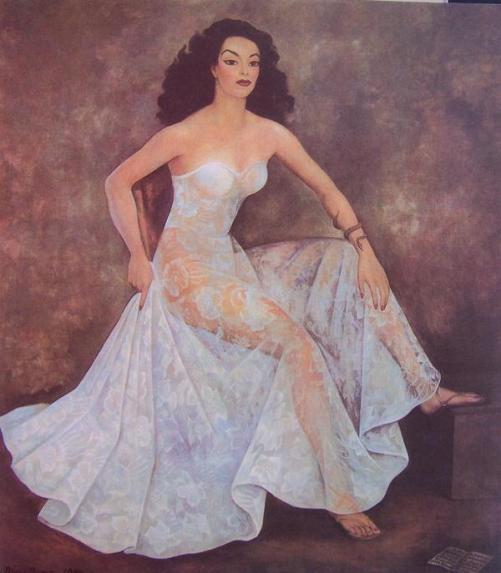 diego rivera María Félix