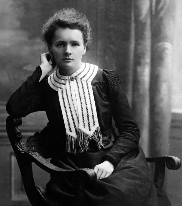 marie curie joven