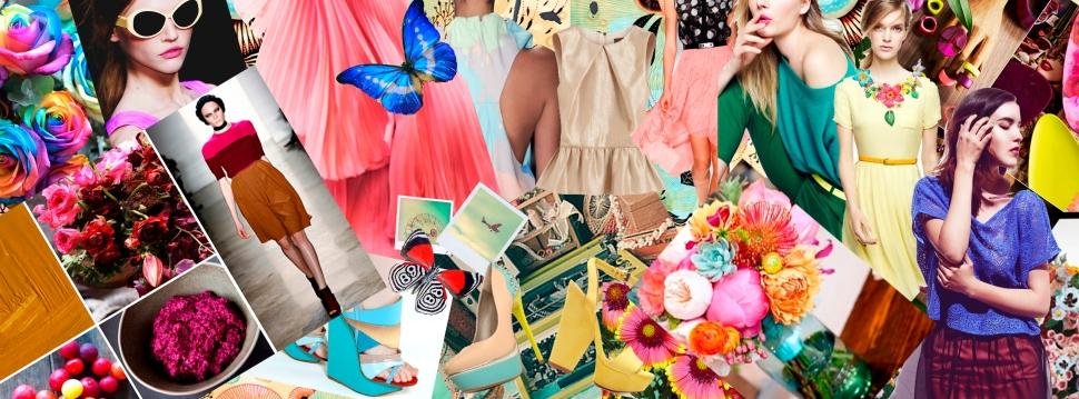 Collage moda