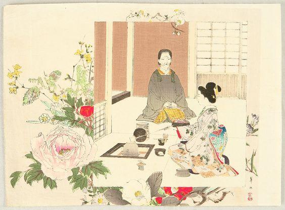 geisha kason susuki ceremonia tea